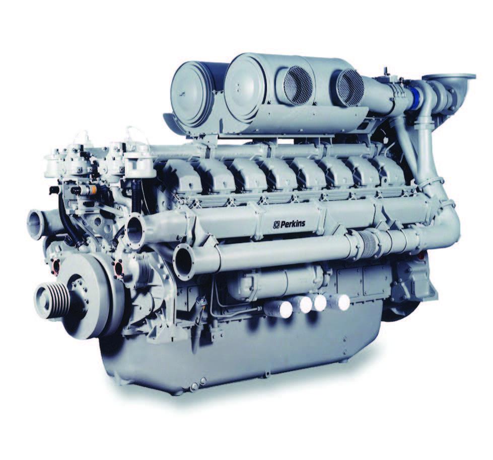 4016TAG1A Diesel Engine – Electro Unit