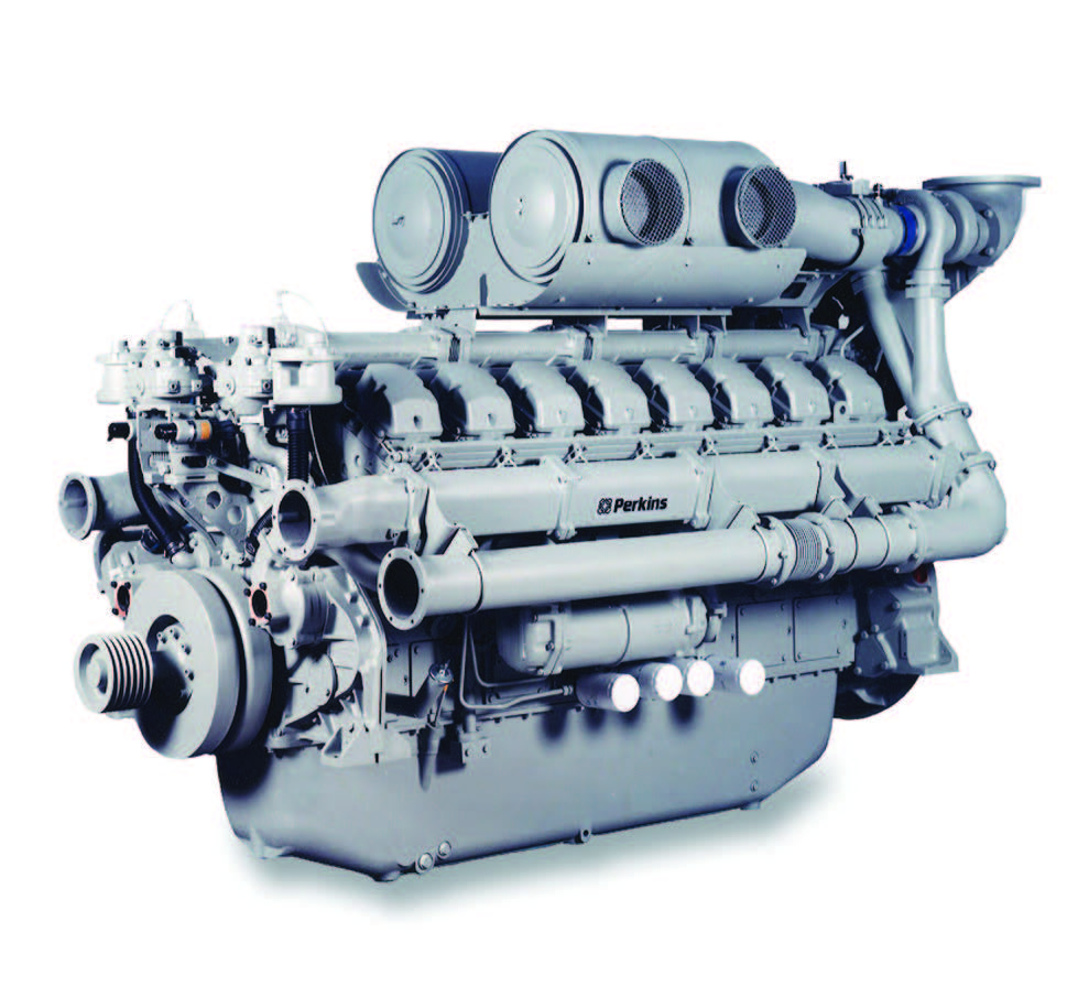 4016TAG2A Diesel Engine – Electro Unit