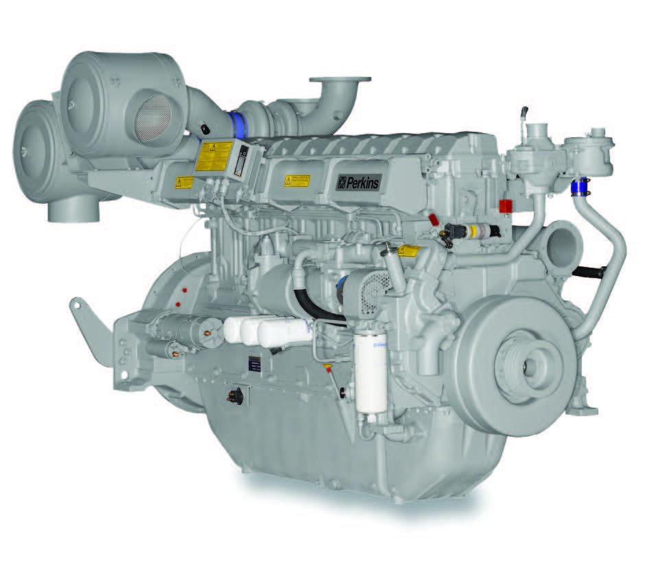 4008TAG1A/2A Diesel Engine – ElectropaK Emission Compliant