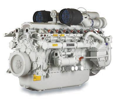 4016-61TRS1/2 Spark Ignited Gas Engine