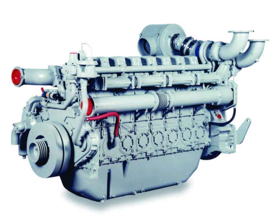 4008TAG Diesel Engine – Electro Unit